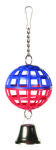 Lattice Ball With Chain And Bell